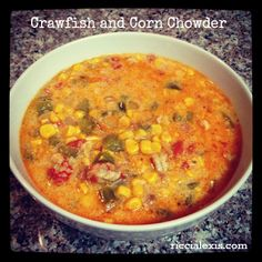 Yummy Crawfish and Corn Chowder!