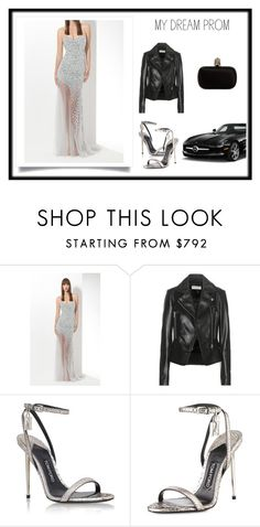 """""""Dressed for Prom"""" by allmusts ❤ liked on Polyvore featuring Mercedes-Benz, Balenciaga, Tom Ford, Alexander McQueen, mydreamprom and promdoover"""