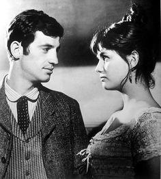 La Viaccia, de Mauro Bolognini. Jean-Paul Belmondo, Claudia Cardinale.