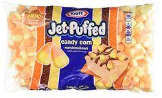 Holiday Treats, Halloween Treats, Halloween 2016, Jet Puffed Marshmallows, Best Popcorn, Cocoa Tea, Snack Recipes, Snacks, Reeses Peanut Butter