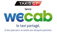 Grand Union et Ekino roulent pour WeCab le nouveau service de taxi partagé de TAXIS G7