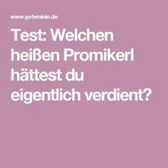 Test: Welchen heißen Promikerl hättest du eigentlich verdient?