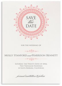 Eight Essential Ways To Keep Your Wedding Classic | Eiseman Bridal | Knapp Save the Date by Bell'Invito Digital Bespoke
