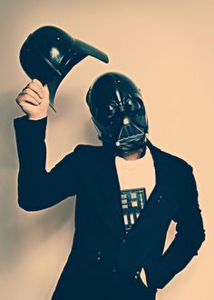 a tip of the hat, Sith Lord style