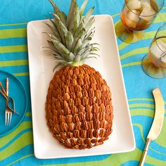 Pineapple Cheese Ball with Pecans - SippitySup