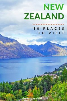 10 places to visit in New Zealand: breathtaking destinations in the South and North islands Brisbane, Sydney, Places To See, Places To Travel, Travel Destinations, Travel Things, Australia Destinations, New Zealand Itinerary, New Zealand Travel Guide