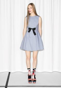 & Other Stories | A-line Cotton Dress