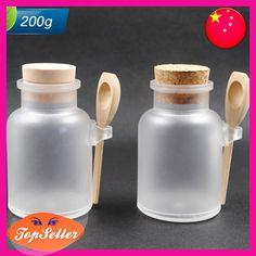 Frasco de sal de banho círculo Abs 200g máscara divisão garrafa pó boião de creme garrafa loção plástico