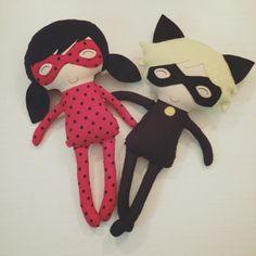 Naninha Ladybug e Catnoir