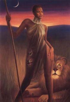 black love art | black love | art for women - African beauty