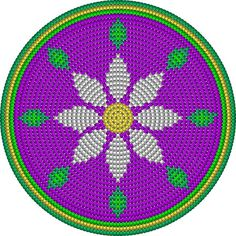 Learn how to make your very own tapestry crochet patterns with a little help from a program called Crochet Charts. Crochet Cross, Crochet Chart, Crochet Motif, Free Crochet, Boho Tapestry, Tapestry Bag, Tapestry Design, Mochila Crochet, Tapestry Crochet Patterns