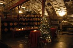 Holidays at Carr Winery - I can't wait for the holiday season to come around again!