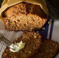 Essie MacGowan's Spicy Applesauce Oatmeal Loaf - American Gods Episode 107 A Prayer for Mad Sweeney - Janice Poon Art Food Styling