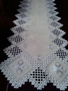 Hardanger Embroidery, Cross Stitch Embroidery, Hand Embroidery, Drawn Thread, Thread Work, Brazilian Embroidery, Bargello, Cutwork, Crochet Doilies