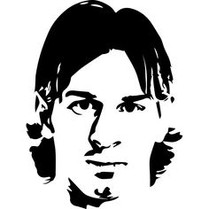 Pop Art Drawing, Pencil Art Drawings, Drawing Sketches, Lionel Messi, Black And White Stickers, Black And White Sketches, Laser Art, 3d Laser, Minion Stencil