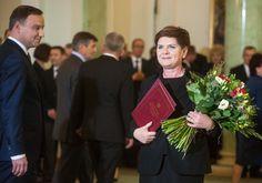 Dziś w pracy. Desygnacja Beaty Szydło na urząd Prezesa Rady Ministrów.  Pałac Prezydencki. 13.11.15 Filip