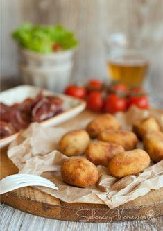 Croquetas Caseras de Jamón | Homemade Ham Croquettes  http://saboresymomentos.es