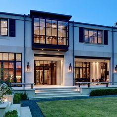 HELLO WINDOWS Modern Home Exterior Limestone Design Ideas, Pictures, Remodel and Decor