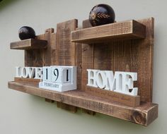 Entry Shelves of Love and Laughter