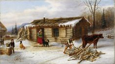 Specialists in selling artwork by Cornelius Krieghoff and other Canadian artists for over sixty years. Contact us to sell your artwork by Cornelius Krieghoff. Canadian Painters, Canadian Artists, Henna Designs, Popular Paintings, Currier And Ives, Cornelius, Winter Art, Weird Pictures, Mountain Man