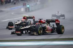 On track action for Kimi and Romain.