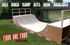 Four One Four skatepark builder. The best skate and BMX ramp designer Bmx Ramps, Skateboard Ramps, Skateboard Art, Backyard Skatepark, Mini Ramp, Skate Ramp, Longboarding, Bmx Bikes, Diy For Teens