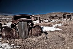 Abandoned Car and Homes