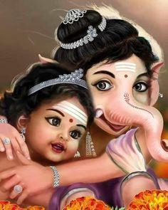 Shri Ganesh Images, Shiva Parvati Images, Ganesha Pictures, Krishna Images, Jai Ganesh, Ganesh Lord, Ganesha Art, Shiva Art, Lord Murugan Wallpapers