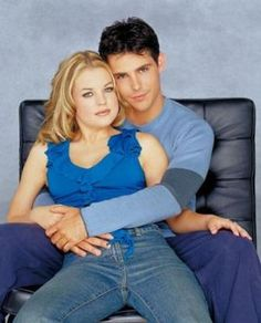 The original Belle and Shawn from Days of Our Lives