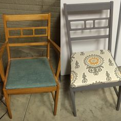 DIY chair remodel!! :)