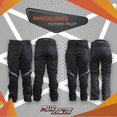 Pantalón de seguridad REVO City calidad y durabilidad para que manejes seguro. Consiguelo aqui en motorepuestos.com.co Parachute Pants, Instagram, Fashion, Man Women, Safety, Pants, Men, Women, Moda
