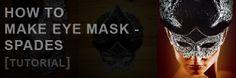 How to Make eye mask  Spades [Tutorial] by Dimitar Hristov (54ka)