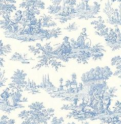 Wallpaper-Designer-French-Country-Life-Blue-and-White-Toile