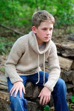 Ravelry: Outdoorsy Sweater pattern by Kate Oates - knit with Spud & Chloe Outer yarn