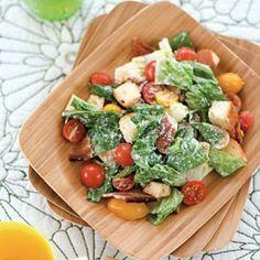 Martha Stewart's BLT Salad With Buttermilk Dressing