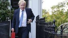 Boris Johnson in Brussels to meet EU counterparts - BBC News