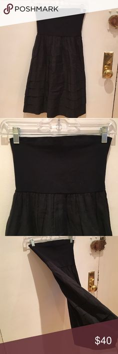 Theory Tube Dress Black Theory dress, tagged one size because the top portion is stretchy. Theory Dresses