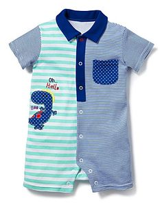 Inspiration for the Oliver + S Parachute Polo sewing pattern.