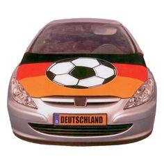 Motorhauben Fahne Deutschland - Auto, Autoschmuck, Fahne, Fanartikel, Fußball, Soccer - http://www.multifanshop.de