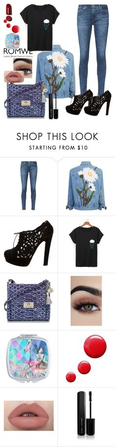 """""""Bez naslova #7"""" by mony-sany ❤ liked on Polyvore featuring AG Adriano Goldschmied, Valentino, Topshop and Marc Jacobs"""