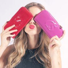 Carteiras Carmen Steffens  #pink #red