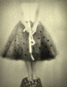 ☽ Dream Within a Dream ☾ Misty Blurred Art Fashion Photography -