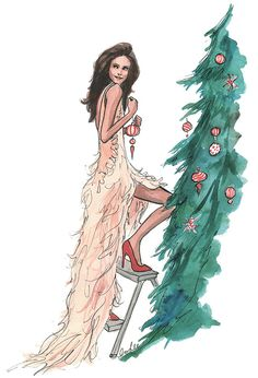 Happy December! (illustration by Inslee!)