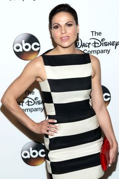 """Lana Parrilla attending """"A Celebration of Barbara Walters"""" cocktail reception on May 14th in NYC."""