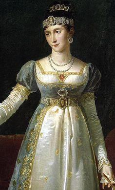Pauline Bonaparte (Borghese) - Herzogin von Guastalla - Schwester von Napoleon