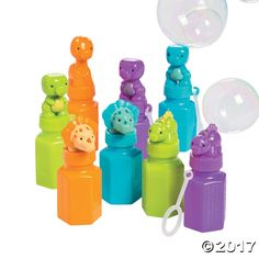 Topped with adorable dinosaurs, these bubbles make your party favors roar with excitement. Dinosaur party favors and party supplies will make your little . Bubble Birthday Parties, Birthday Party Themes, Birthday Ideas, Theme Parties, Birthday Invitations, Dinosaur First Birthday, Boy Birthday, Third Birthday, Dinasour Birthday