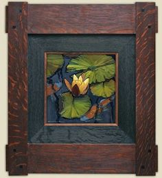 """Lilies and Koi"" 