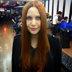 Redhead Effect by Marcio Simbas #circushair #circuspamplona #hair #redhead #color #fashion #style