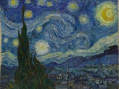 Idea for my next project. I'm going to do Van Gogh in mosaic glass and beads.