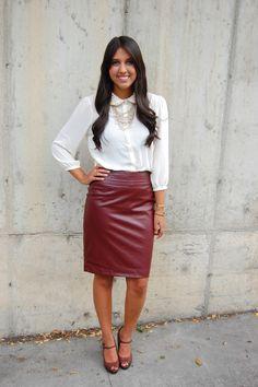 Leather Skirt | 0001 LEADHER-SKIRTS-ROK | Pinterest | Leather ...